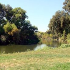 Camping on the Merced River